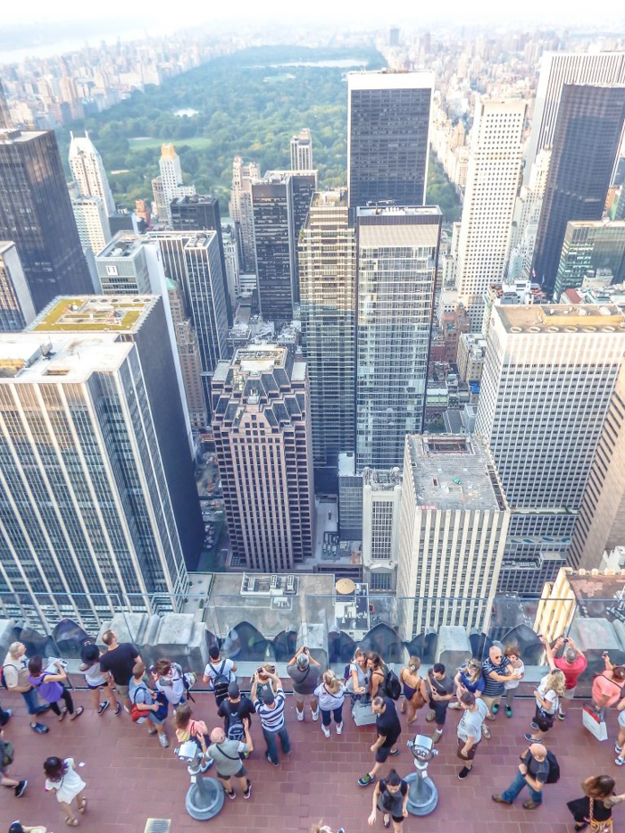 Is Rockefeller Center's Top of the Rock the best observation deck in New York City? (looking down and central park)