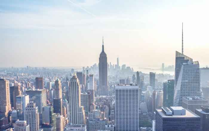 Is Rockefeller Center's Top of the Rock the best observation deck in New York City? (Manhattan skyline)