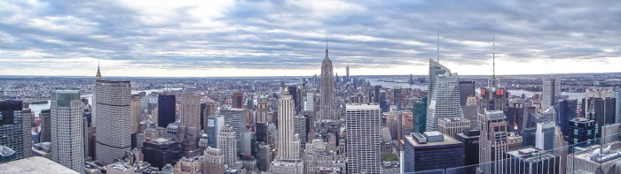 Is Rockefeller Center's Top of the Rock the best observation deck in New York City? (panorama)