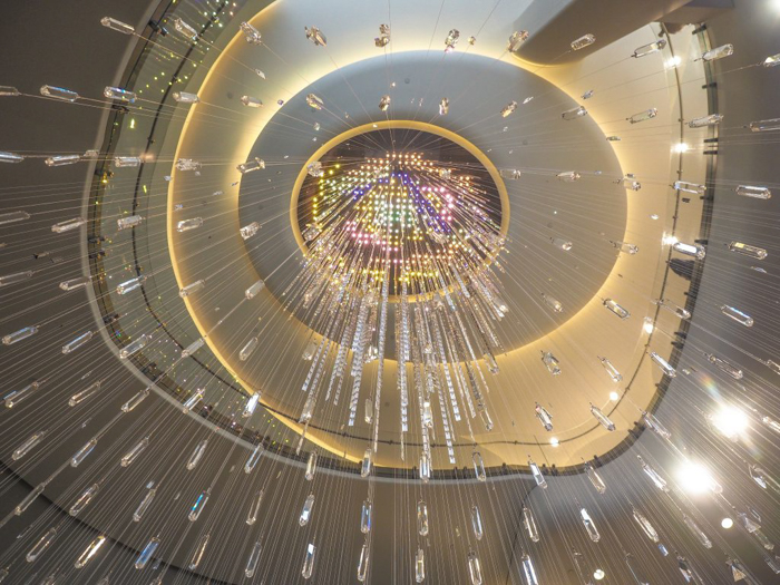 Is Rockefeller Center's Top of the Rock the best observation deck in New York City? (Swarovski crystals entrance)