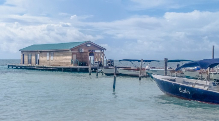 3 days in Care Caulker, Belize // boat house