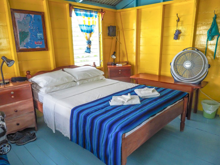 3 days in caye caulker, belize // where to stay, colinda cabanas