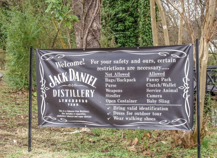 Jack Daniel's Distillery tour in Lynchburg, Tennessee | Tennessee Whiskey | perfect day trip from Nashville | Southern lunch at Miss Mary Bobo's Boarding House | Jack Daniel's Honey | Jack Daniel's Fire | Gentlemen Jack | Jack Daniel's Single Barrel Select | Old no. 7 | tour rules