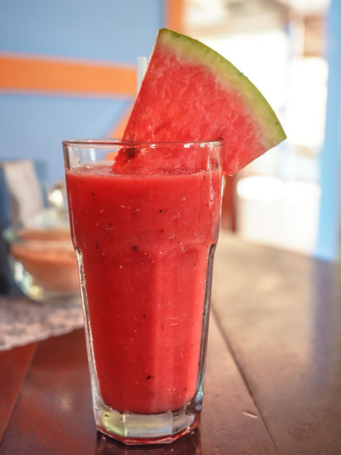Things that shocked me in Belize // watermelon juice