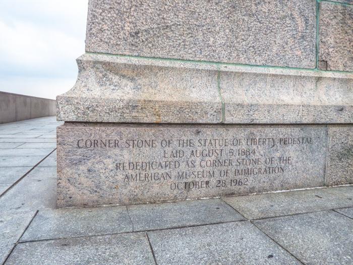 Visiting the Statue of Liberty, New York City // cornerstone