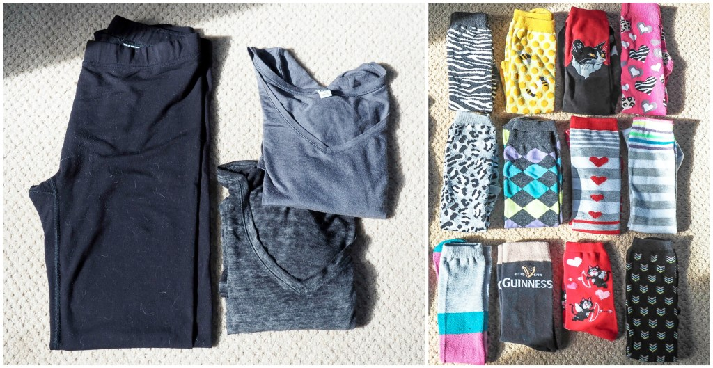 What to pack for a trip to London and Paris in the winter (for real people) | under things and socks