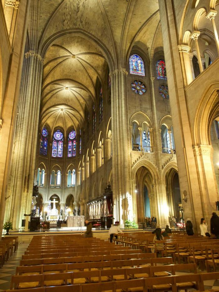 3 days in Paris, France | Paris Museum Pass | Paris Passlib' | Paris Visite | Notre Dame Cathedral | interior