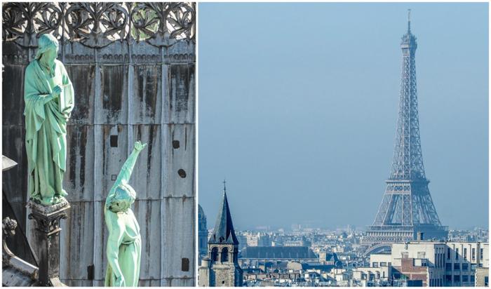 3 days in Paris, France | Paris Museum Pass | Paris Passlib' | Paris Visite | Towers of Notre Dame | View of Eiffel Tower