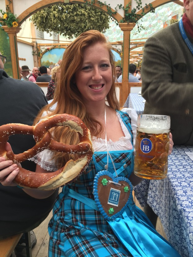 How to Dress for Oktoberfest | what to wear | Munich, Germany | dirndl | lederhosen | trachten | beer festival | tents | costume |