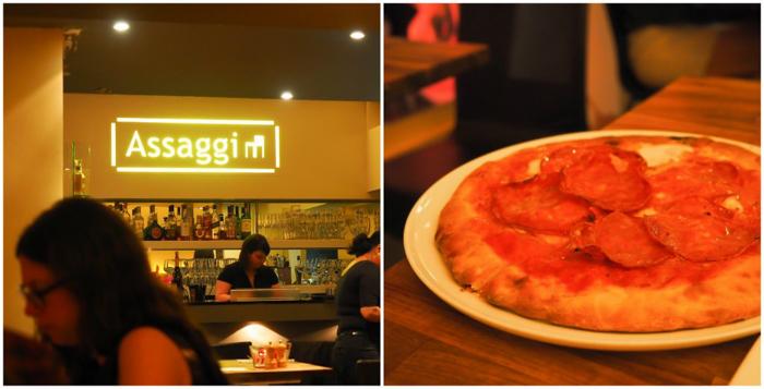 3 days in Amterdam | Italian dinner at Assagi restaurant | Pizza | Jordaan