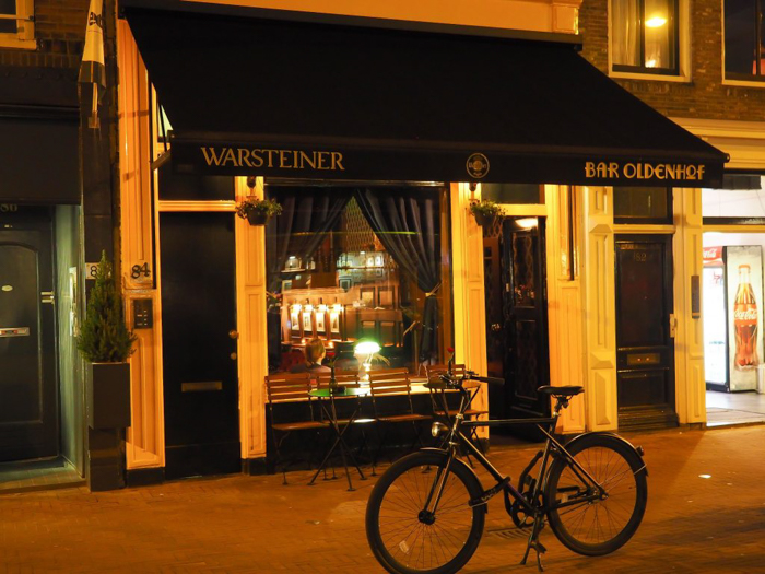 Bar Oldenhof in Amserdam, Netherlands | 3 days in Amsterdam | Speakeasy in the Jordaan neighborhood