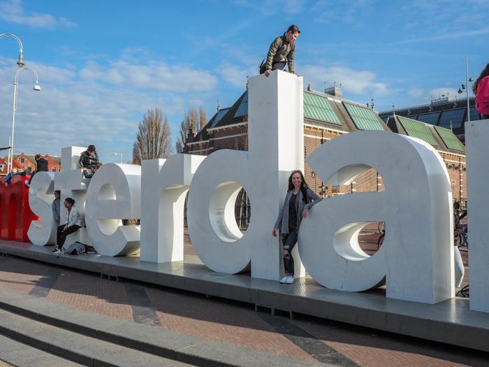 I AMSTERDAM sign | 3 days in Amsterdam, Netherlands