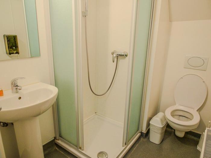 St. Christopher's Inn Bruges, Belgium | Hostel at the Bauhaus | Private room | Bed + Bathroom