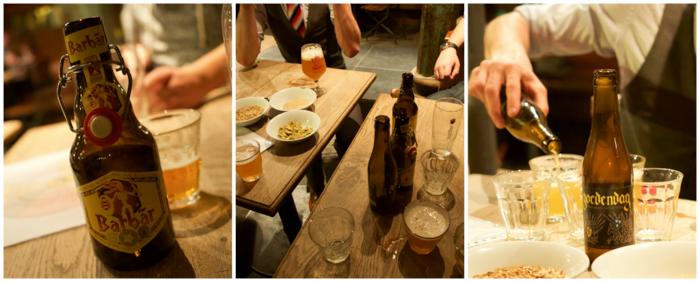 Belgian beer tasting at St. Christopher's Inn Bruges, Belgium | Hostel at the Bauhaus | Brugge