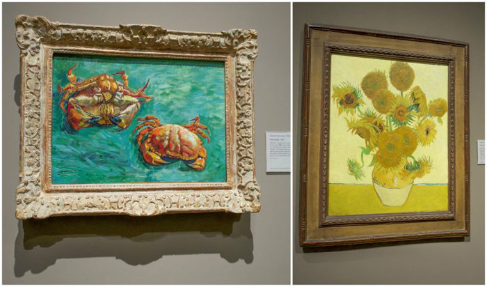 3 days in Amsterdam | Van Gogh Museum | Vincent van Gogh crabs and sunflowers | Dutch art history and paintings