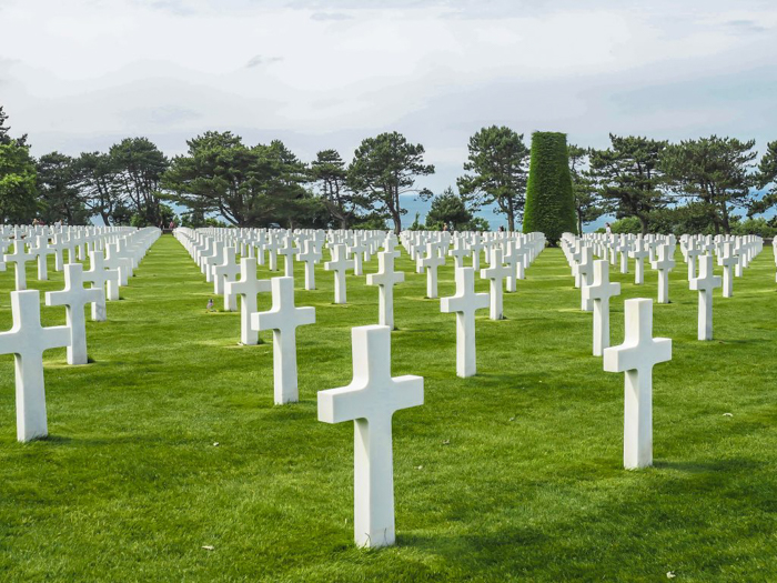 The best D-Day sites to visit in Normandy, France | WWII | WW2 | Normandy American Cemetery | graves
