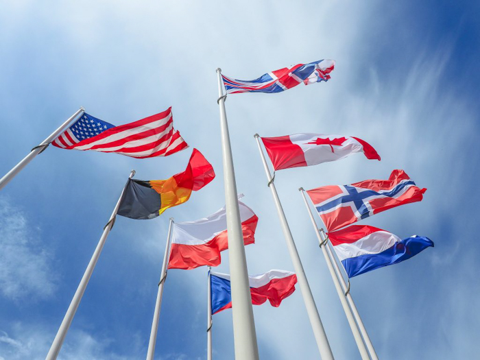 The best D-Day sites to visit in Normandy, France | WWII | WW2 | Arromanches | allied flags