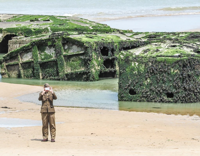 The best D-Day sites to visit in Normandy, France | WWII | WW2 | Arromanches | army soldier harbor remains