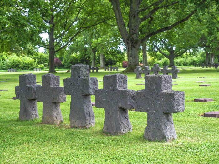 The best D-Day sites to visit in Normandy, France | WWII | WW2 | La Cambe German Cemetery | crosses