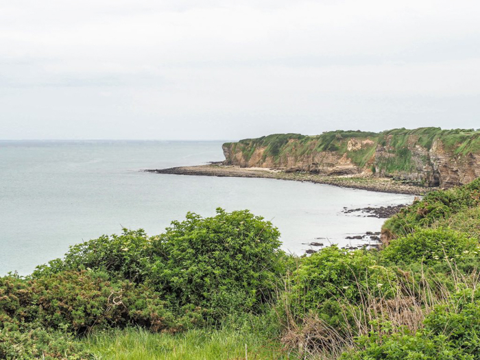 The best D-Day sites to visit in Normandy, France | WWII | WW2 | Pointe du Hoc | Cliff
