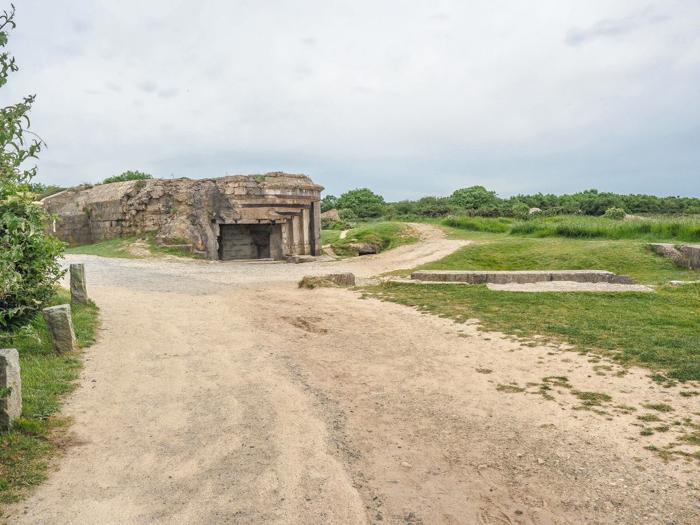The best D-Day sites to visit in Normandy, France | WWII | WW2 | Pointe du Hoc | German gun casement