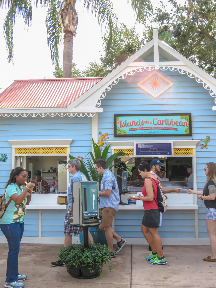 What to pack for the Epcot Food and Wine Festival | Epcot Center, Disney World, Orlando, Florida | What to wear, what to bring, what to leave at home, and how NOT to look like a crazy person | Apparel, shoes, misc. | caribbean pavilion