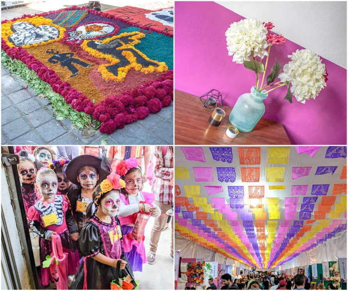 17 Things That Shocked Me in Mexico | Mexico City, Oaxaca de Juarez | Dia de Muertos | flower carpet | pink wall | trick-or-treaters | Oaxaca market