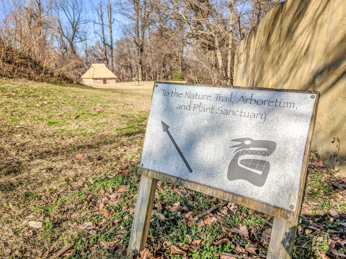 9 Reasons You Should Visit Chucalissa Indian Village | Memphis, Tennessee | West Tennessee Historic Landmark | History museum | Native American, American Indian historical site | Chickasaw, Choctaw, Cherokee, Quapaw, Mississippian culture | Earthen Mound complex | sign