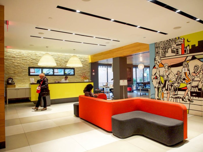pod 51 lobby area