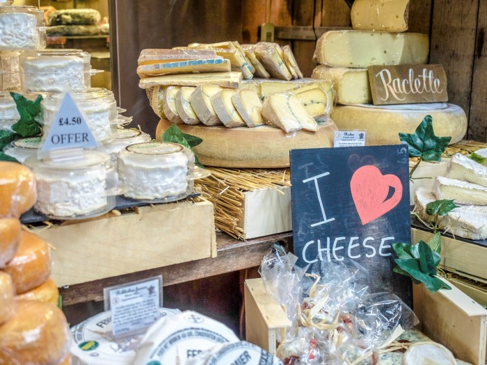The Best 5-day London Itinerary for First-Time Visitors | London, England, United Kingdom | Borough Market, I heart cheese