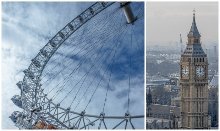 The Best 5-day London Itinerary for First-Time Visitors | London, England, United Kingdom | London Eye, view of Big Ben