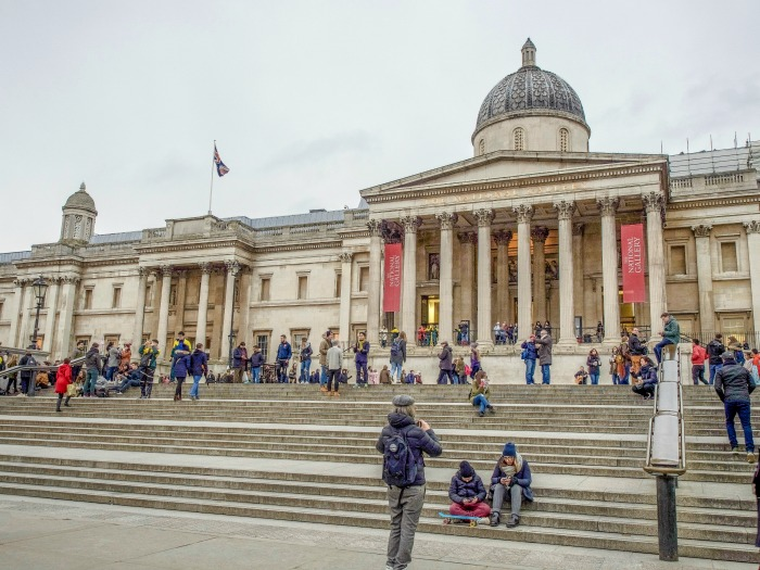 The Best 5-day London Itinerary for First-Time Visitors | London, England, United Kingdom | National Gallery, exterior, Trafalgar Square