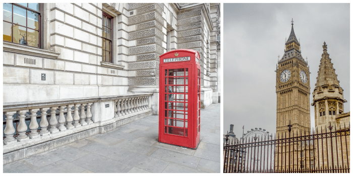 The Best 5-day London Itinerary for First-Time Visitors | London, England, United Kingdom | red phone booth, big ben