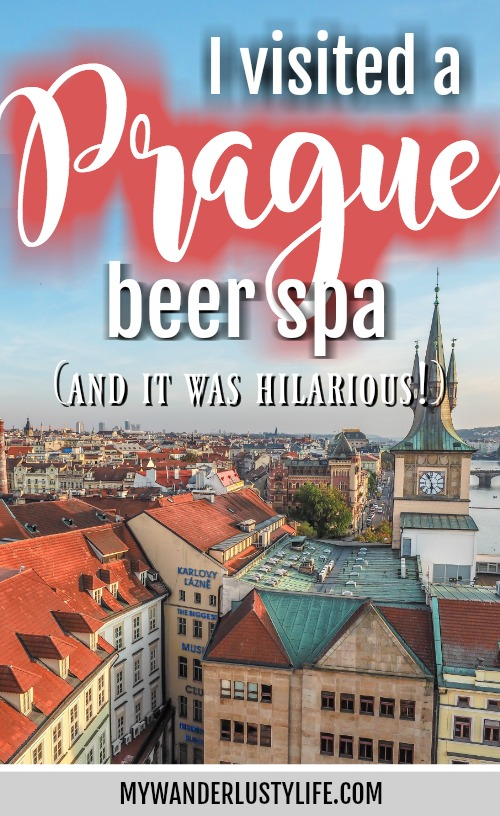 I Visited a Prague Beer Spa and It Was Hilarious
