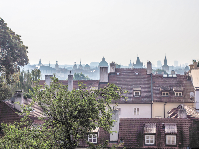 Czeching Out the Best of Prague in 3 Days | Prague Castle | Rooftop view from the Old Castle Steps