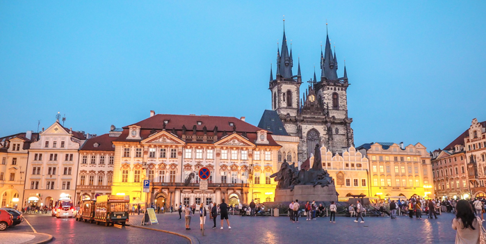 Czeching Out the Best of Prague in 3 Days   Old Town Square   Church of Our Lady Before Tyn