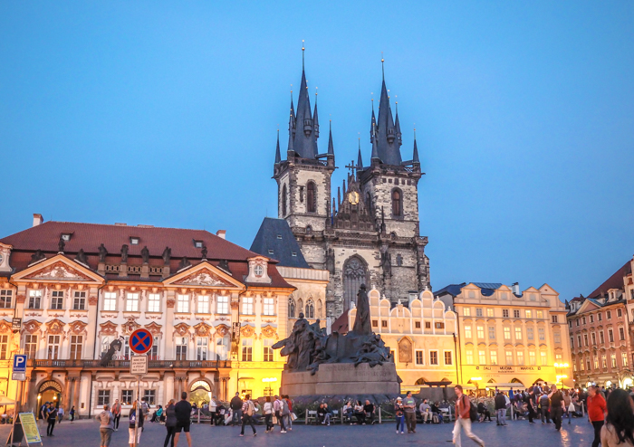 Czeching Out the Best of Prague in 3 Days | Old Town Square | Church of Our Lady Before Tyn