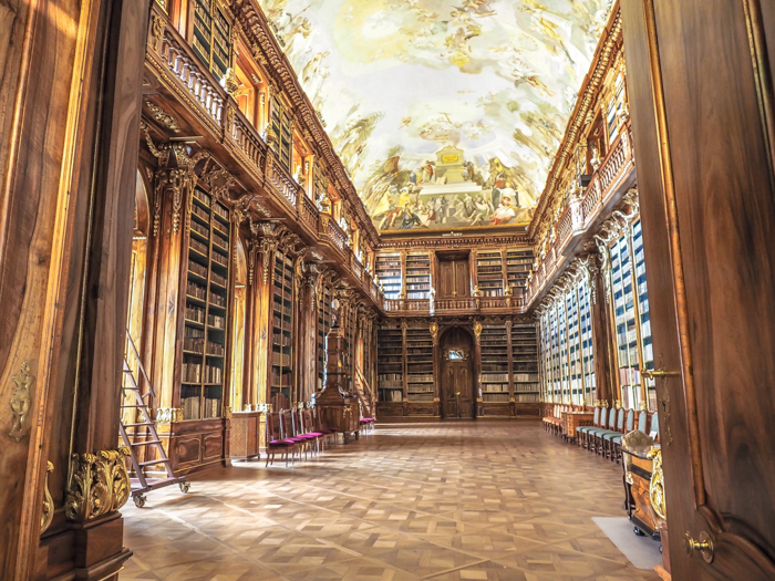 Czeching Out the Best of Prague in 3 Days | Czech Republic | Strahov Monastery Library, Philosophical Room