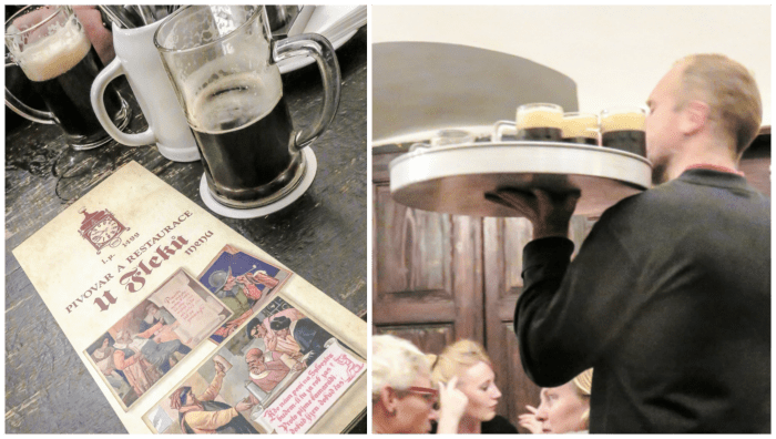 Czeching Out the Best of Prague in 3 Days | Czech Republic | U Fleku historic brewery and bar