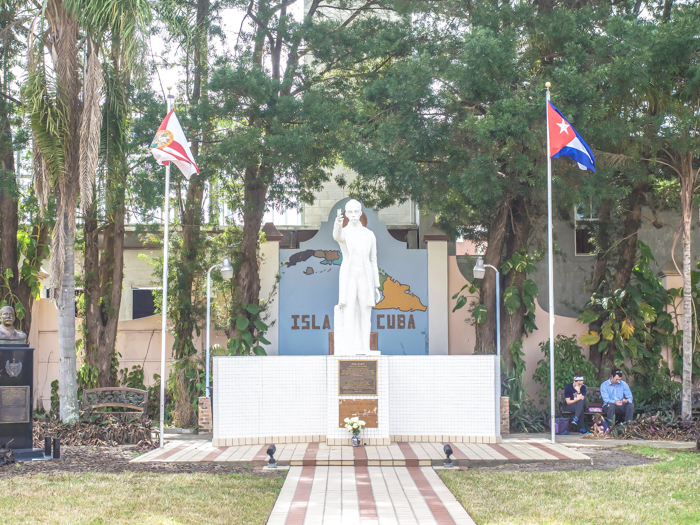 Spend a day in Ybor City | Tampa, Florida | Jose Marti Park, Cuban land
