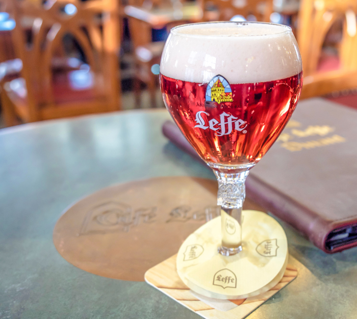 4 days in Belgium | Where to eat and drink in Dinant | Café Leffe