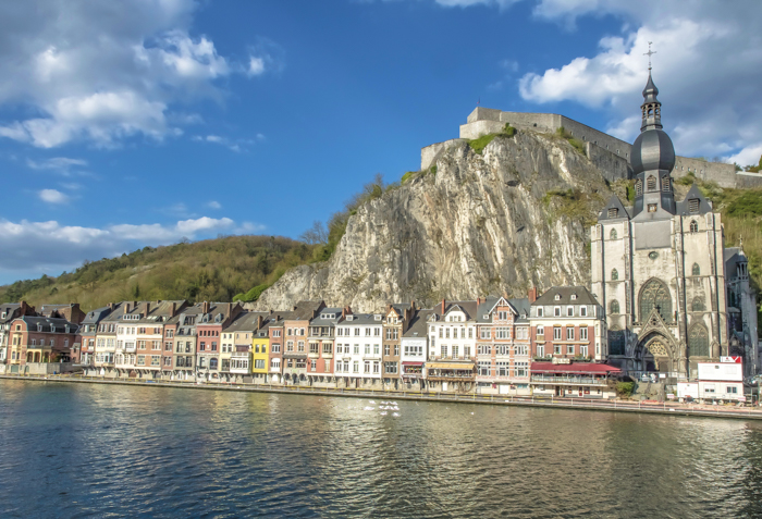 4 days in Belgium | Dinant | skyline