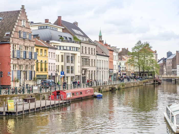 4 days in Belgium | Where to stay in Ghent | Gent | canal