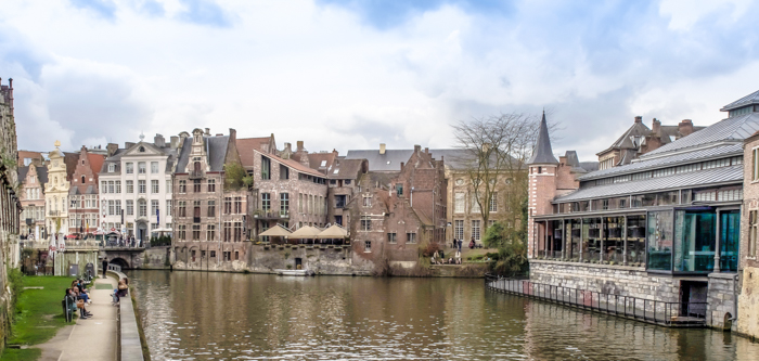 4 days in Belgium | Where to stay in Ghent | Gent | cute canal, bridge