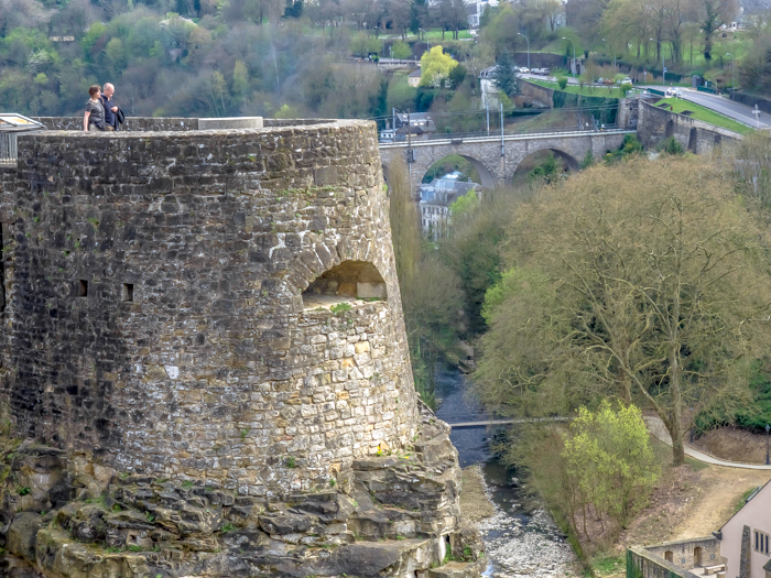 Day Trip to Luxembourg | Should you take one or not? | What to see in Luxembourg | What to do in Luxembourg | Day trip to Luxembourg from Brussels, Belgium | Luxembourg City | medieval wall