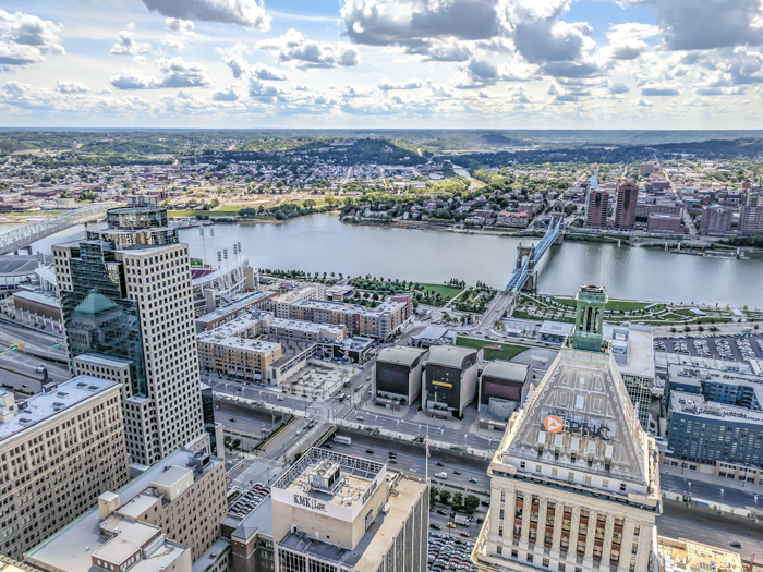 9 Reasons a Long Weekend in Cincinnati, Ohio Should Be Your Next Trip | What to do in Cincinnati | Things to do in Cincinatti | How to spend a weekend in Cincinnati | What to see in Cincinnati, Ohio | Midwest | USA Road trip | 3 days in Cincinnati, Ohio | View from the Carew Tower