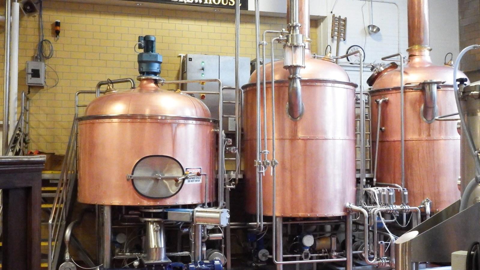 Sam Adams Brewery Tour, Boston, Massachusetts