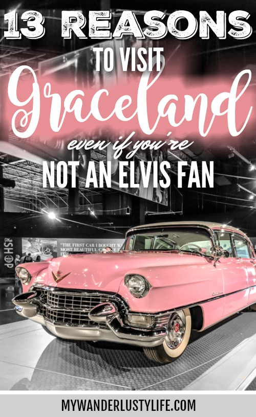 13 Reasons to Visit Graceland in Memphis, Tennessee even if you're not an Elvis Presley fan #Elvis #Graceland #Memphis #traveltips
