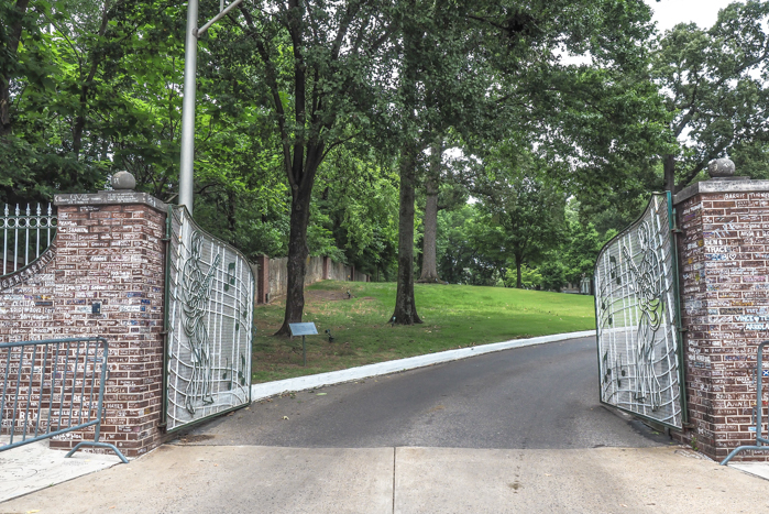 gates of graceland | 13 Reasons to Visit Graceland in Memphis, Tennessee even if you're not an Elvis Presley fan #Elvis #Graceland #Memphis #traveltips