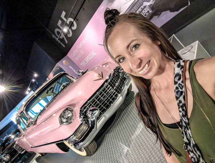 Pink Cadillac | 13 Reasons to Visit Graceland in Memphis, Tennessee even if you're not an Elvis Presley fan #Elvis #Graceland #Memphis #traveltips #pink #cadillac